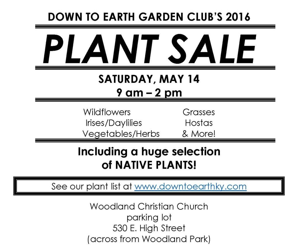 DTE plant sale 2016