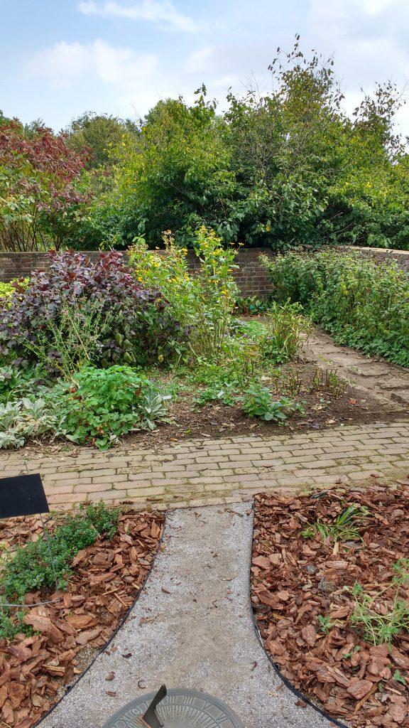 Gardenside Green Thumb Garden Club Civic Project, herb garden renovation. Summer 2016